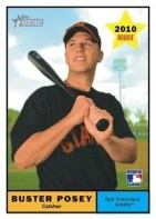 2010 Topps Heritage Buster Posey RC Card