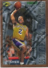 1996/97 Derek Fisher Finest Rookie RC