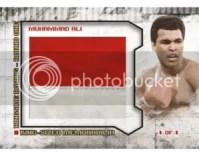 2010 Ringside Boxing Muhammed Ali King Sized Patch