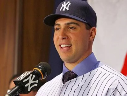 A Happy Mark Teixeira