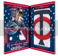 2010 Triple Threads Joe Mauer All-Star Patch