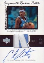 03/04 Carmelo Anthony Exquisite RC