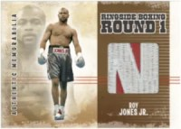 2010 Ringside Boxing Roy Jones Jr. Patch Memorabilia