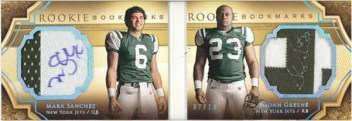 2009 Exquisite Football Hinged Book Cards