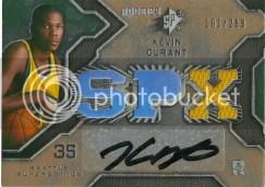 Kevin Durant Spx Jersey Autograph