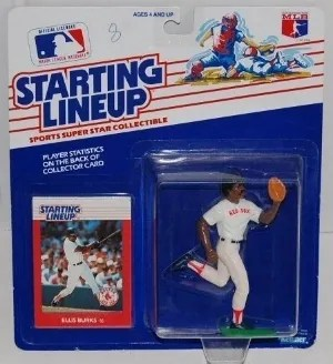 1988 Kenner Ellis Burks Starting Lineup