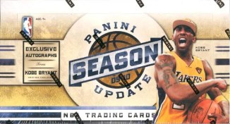 2009/10 Panini Season Update Basketball Hobby Box