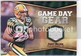 2009 UD Philadelphia Jordy Nelson Jersey