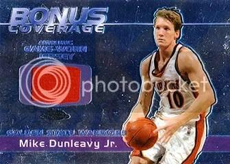 03/04 Topps Chrome Bonus Coverage Relic Mike Dunleavy Jr