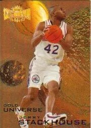 1997/98 Skybox Metal Jerry Stackhouse Gold