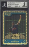 2007 Bowman Chrome Draft Jason Heyward Superfractor BGS 9