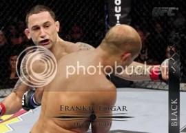 2011 Topps UFC Title Shot Frankie Edgar Base Card