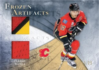 2010/11 UD Frozen Artifacts Jarome Iginla Jersey Card