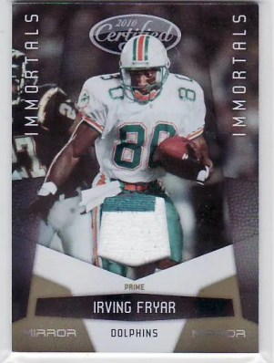 2010 Panini Certified Irving Fryer Mirror Jersey