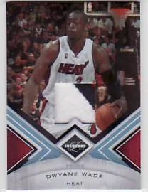 2010/11 Panini Limited Dwyane Wade Prime Patch #2/25