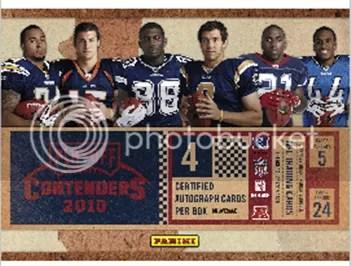 2010 Panini Contenders Football Hobby Box