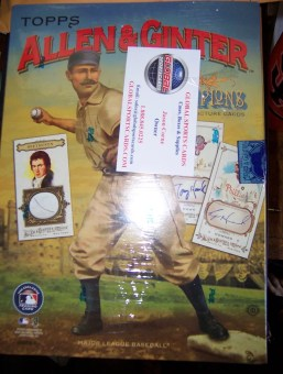 2010 Topps Allen & Ginter Sports Card Radio Box Break