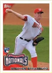 2010 Topps Update Series Stephen Strasburg RC #661