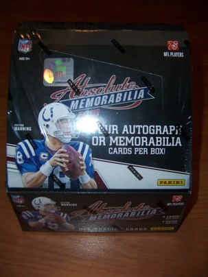 2010 Panini Absolute Memorabilia Football Hobby Box