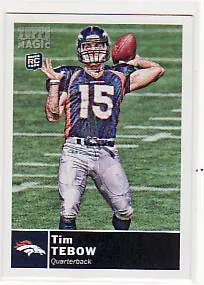 2010 Topps Magic Tim Tebow Rookie RC #25