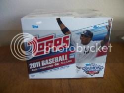 2011 Topps Series 1 Jumbo Box