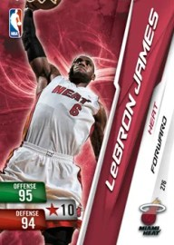 2010/11 LeBron James Base Adrenalyn Series 2