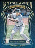 2011 Topps Gypsy Queen Michael Stanton Future Star