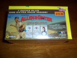 2010 Topps Allen & Ginter Retail Blaster Box