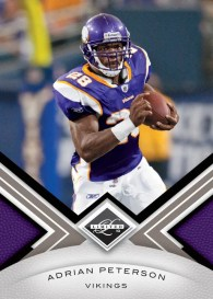 2010 Panini Limited Adrian Peterson Base Card