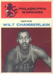 1961/62 Fleer Wilt Chamberlain Rookie RC