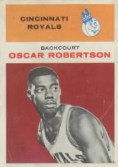 1961/62 Fleer Oscar Robertson Rookie RC