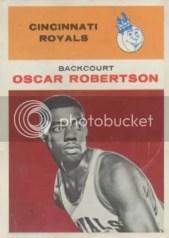 1961/62 Fleer Oscar Robertson Rookie RC