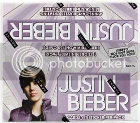 2010 Panini Justin Bieber Trading Card Box