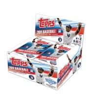 2011 Topps Baseball Series 1 Retail Box