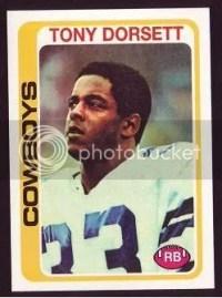 2010 Topps 55th Anniversary Reprints Tony Dorsett
