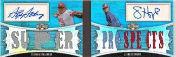 2010 TRIPLE THREADS STRASBURG-HEYWARD AUTOS