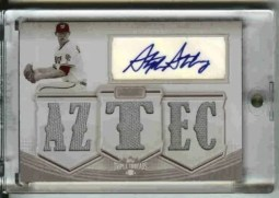2010 TRIPLE THREADS STEPHEN STRASBURG AUTO JERSEY 1/1
