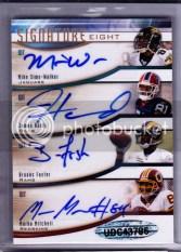 2009 Upper Deck Sp Signature 8 Eight Autographs