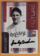 2010 Donruss Elite EEE Sparky Anderson Back to the Future Autograph