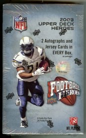 2008 Upper Deck UD Heroes Football Hobby Box