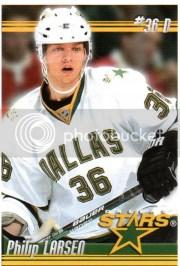 2010/11 Panini NHL Stickers Philip Larsen