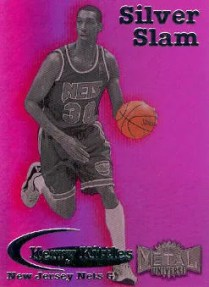 1997/98 Skybox Metal Universe Silver Slams Kerry Kittles