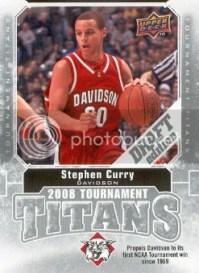 2009/10 Upper Deck Draft Edition Stephen Curry Tournament Titans