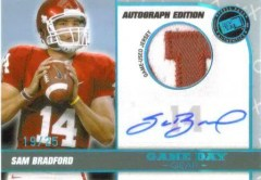 2010 Press Pass Sam Bradford Patch Autograph RC