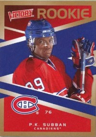 2010/11 UD Victory PK Subban Rookie RC