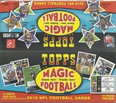 2010 Topps Magic Football Retail Box