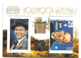 2010 Panini Century Collection Frank Sinatra/Bing Crosby Dual