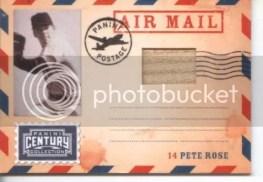 2010 Panini Century Collection Pete Rose Bat Air Mail