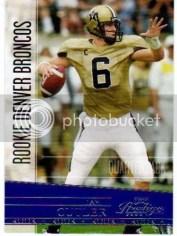 2006 Jay Cutler Playoff Prestige Rookie RC
