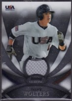2010 Bowman Sterling Troy Walters Jersey USA